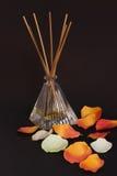 De aromaverspreider en ontspant Stock Foto