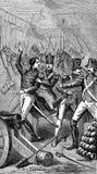 de arrestatie van Louis Napoleon stock illustratie