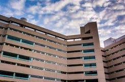 De Arrondissementsrechtbank van Verenigde Staten in Baltimore, Maryland Royalty-vrije Stock Afbeelding