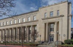 De Arrondissementsrechtbank van Verenigde Staten in Beaumont Texas royalty-vrije stock afbeelding