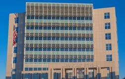 De Arrondissementsrechtbank van Verenigde Staten in Gulfport de Mississippi royalty-vrije stock afbeelding