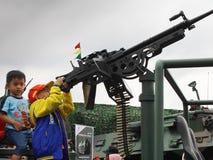 De artilleristbroers Royalty-vrije Stock Foto's