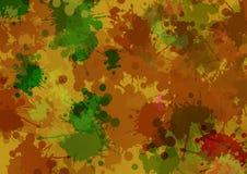 De artistieke abstracte achtergrond van de waterverfplons Stock Afbeeldingen