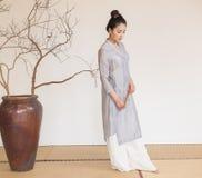 De artistieke conceptie van Zen Meditation-The van Zen-thee Stock Afbeelding