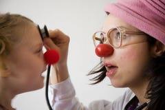 De arts van de clown Royalty-vrije Stock Afbeeldingen