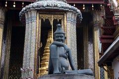 De Arts van de kluizenaar - Groot Paleis, Bangkok Stock Afbeelding