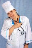 De arts van de vrouw stock afbeeldingen