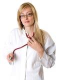 De arts van de vrouw. Royalty-vrije Stock Foto