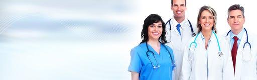 De artsen groeperen zich stock foto's