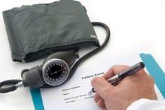 De artsen overhandigen Stock Fotografie
