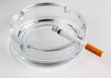 De as van de sigaret Stock Foto's