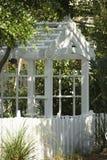 De as van de tuin met bomen. Royalty-vrije Stock Afbeelding