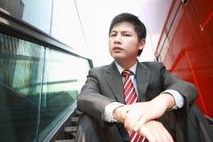 De Asiatic zakenman van Yong Royalty-vrije Stock Foto's