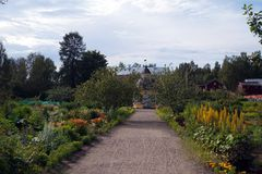 De Aspegren-tuin Royalty-vrije Stock Fotografie