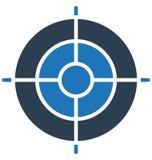 De aspiraties, bedrijfsdoel het Geïsoleerde Vectorpictogram gemakkelijk kan zijn geven uit en wijzigen zich stock illustratie
