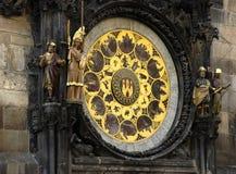 De astrologische Klok van Praag Royalty-vrije Stock Foto's