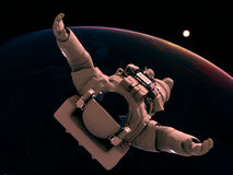 De astronaut Royalty-vrije Stock Foto's