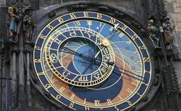 De astronomische klok Stock Fotografie