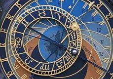 De astronomische klok Royalty-vrije Stock Afbeelding