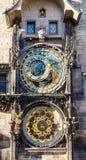 De Astronomische Klok van Praag Royalty-vrije Stock Afbeeldingen