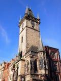 De Astronomische Klok van Praag, Praag, Tsjechische Republiek Stock Foto