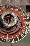 De Astronomische Klok van Zytglooge, Bern royalty-vrije stock afbeeldingen