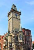 De Astronomische Klokketoren van Praag, Tsjechische Republiek Royalty-vrije Stock Fotografie