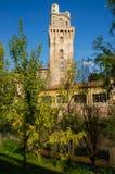 De astronomische Toren van Waarnemingscentrumla Specola Royalty-vrije Stock Foto's