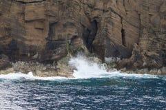 De Atlantische Oceaan Stock Afbeelding