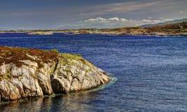 De Atlantische weg, Noorwegen Stock Foto's