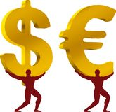 De atlas van het geld royalty-vrije illustratie