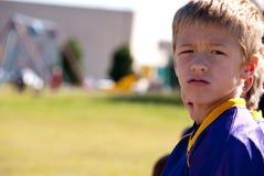 De Atleet van de jongen Stock Foto
