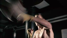 De atleten leiden effect op nauwkeurigheid en snelheid op stock footage