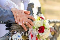De attributen van het huwelijk Royalty-vrije Stock Fotografie