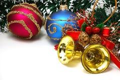 De attributen van Kerstmis Stock Afbeelding