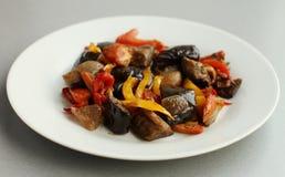 De aubergine van de aubergine \ Royalty-vrije Stock Foto's