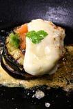 De aubergine van de maaltijd royalty-vrije stock afbeelding