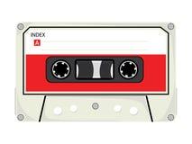 De audio Band van de Cassette stock illustratie