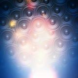 De audioachtergrond van de muziekspreker Stock Foto's