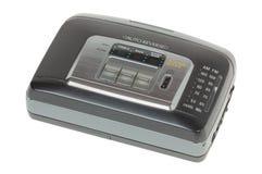 De audiospeler van de cassette Royalty-vrije Stock Foto's