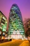 De Augurk, Londen, het UK. stock foto