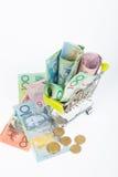 De Australische bankbiljetten van de Dollar Royalty-vrije Stock Fotografie