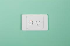 De Australische contactdoos van de elektriciteitsmuur Stock Foto