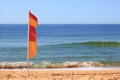 De Australische Vlag van de Brandingsredding Royalty-vrije Stock Afbeelding