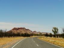 De australiska västra McDonnell områdena arkivbilder