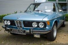 De auto BMW Nieuwe Zes van de ware grootteluxe (E3), 1981 Royalty-vrije Stock Afbeelding