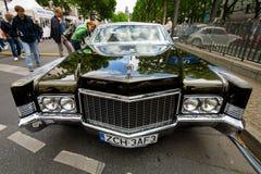 De auto Cadillac Coupe DE Ville, 1970 van de ware grootteluxe Royalty-vrije Stock Afbeeldingen