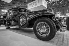 De auto Duesenberg Modelj la grande, 1929 van de ware grootteluxe Stock Foto's