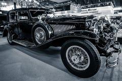 De auto Duesenberg Modelj la grande, 1929 van de ware grootteluxe Royalty-vrije Stock Foto's