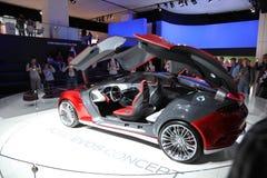 De Auto EVOS van het Concept van de doorwaadbare plaats bij IAA Stock Fotografie